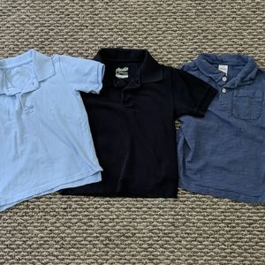 Toddler Boy Polo Shirt Bundle - Size 4T